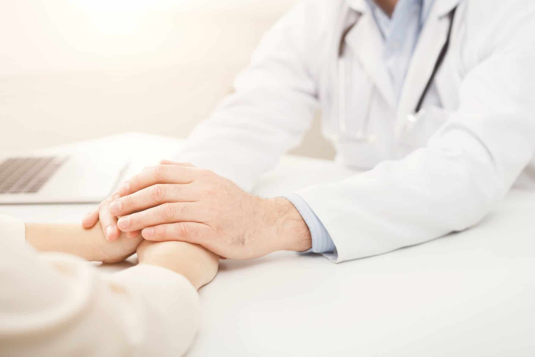 Naturopathic Doctor Treating Patient