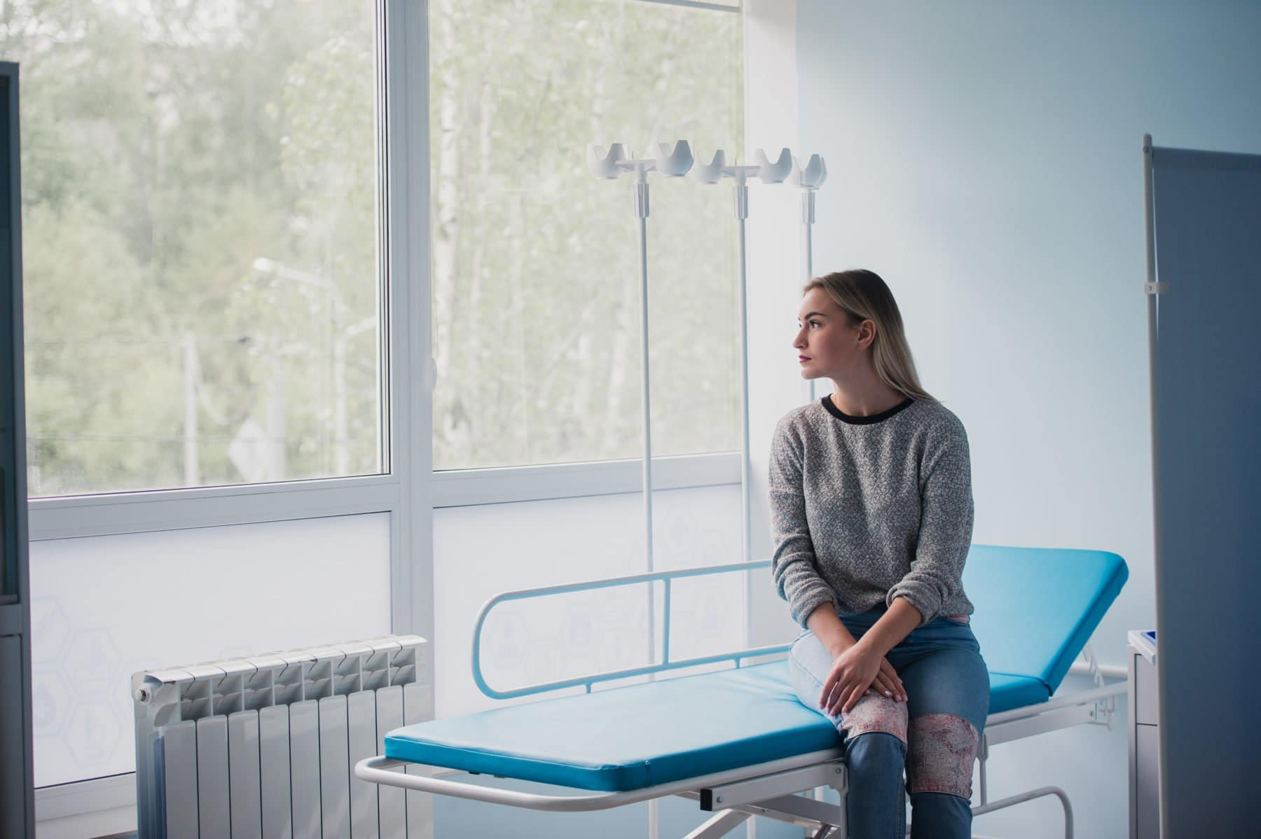 Girl at Doctors