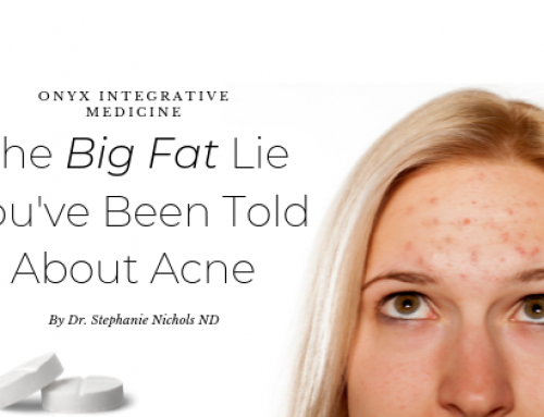 The Big Fat Lie You've Been Told About Acne