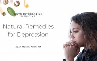 natural remedies for depression onyx integrative medicine gilbert az
