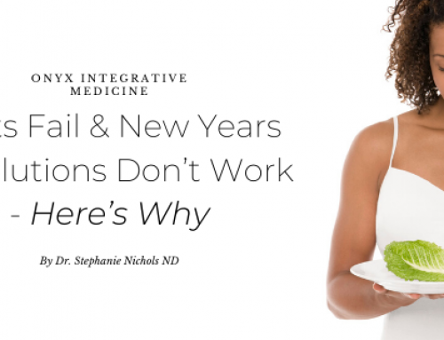 Diets Fail & New Years Resolutions Don't Work – Here's Why