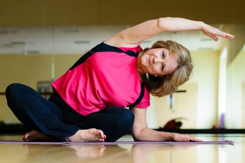 yoga side bend gilbert az